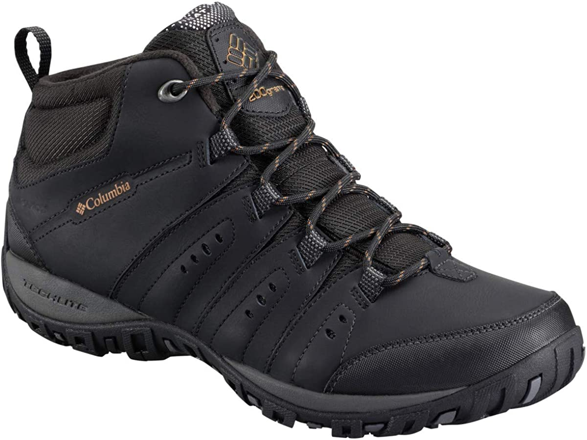 Columbia Men s Woodburn Ii Chukka Waterproof Omni-Heat Hiking Shoe