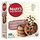 Mary's Gone Crackers Love Cookies, N'Oatmeal Raisin, 5.5 Ounce (Pack of 6)
