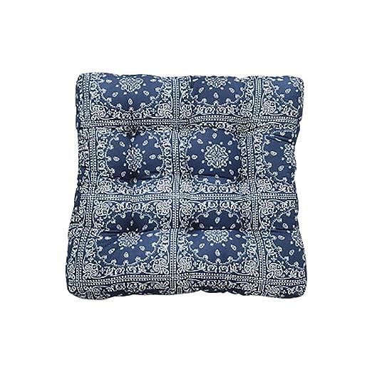 TMJJJ - Cojín de algodón y lino para el suelo, cojín de ...
