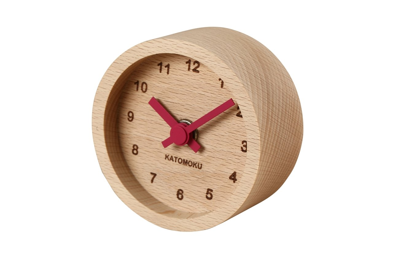 KATOMOKU mini clock maru
