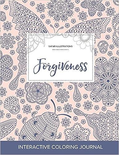 Book Adult Coloring Journal: Forgiveness (Safari Illustrations, Ladybug)