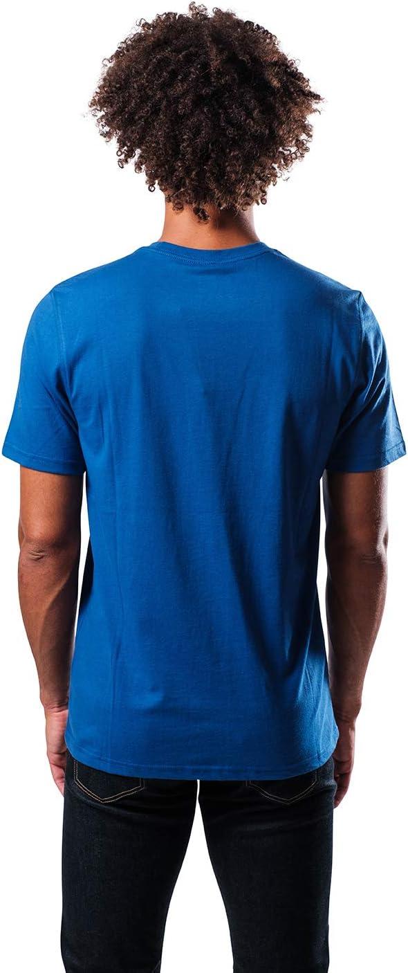 Ultra Game NBA Mens Brushed Reflective Logo Tee Shirt