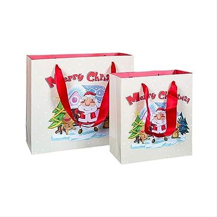 3 Piezas Bolsa De Regalo De Navidad Bolsa De Cumpleaños Con ...