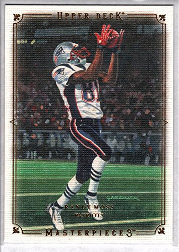 (RANDY MOSS 2008 UD Masterpieces #69)