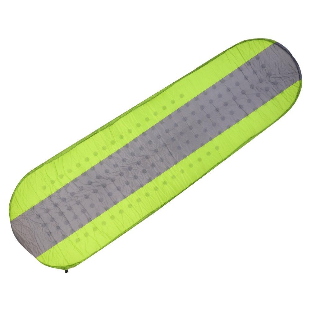 runacc軽量Inflating Sleeping Pad折りたたみ式アウトドアFoam Sleepマットレスコンパクトキャンプ睡眠マット、最適な用途ハイキング、バックパッキング、キャンプ、旅行、グリーン B0762LV2S5