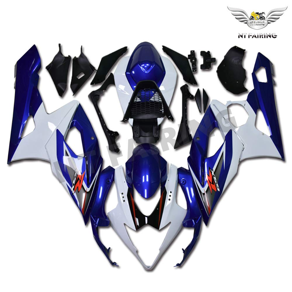 NT FAIRING Light Red Injection Mold Fairing kits Fit for Suzuki 2005 2006 GSXR 1000 K5 05 06 GSX-R1000 Aftermarket Painted ABS Plastic Motorcycle Bodywork