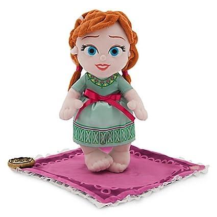 Amazon.com: Parques Disney Frozen bebé Anna en una manta ...