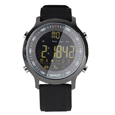 Cebbay Reloj Inteligente Pulsera Actividad Inteligente Full OLED táctil Reloj Pulsera Rastreador de Fitness para Correr