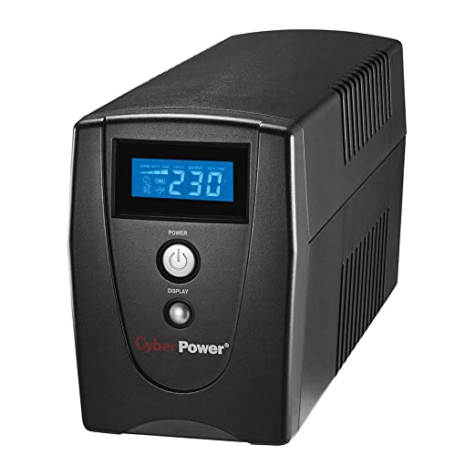 20 opinioni per CyberPower VALUE600EILCD 600VA 3AC outlet(s) Tower Black uninterruptible power