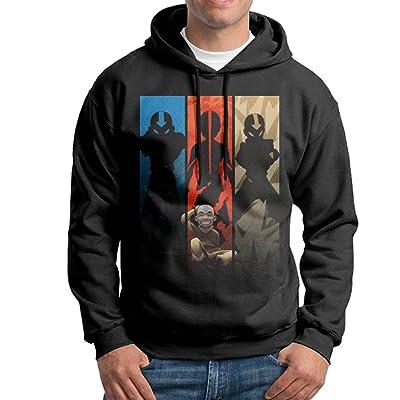 SLCG Men's Last Animated Series Airbender Sweatshirt Black
