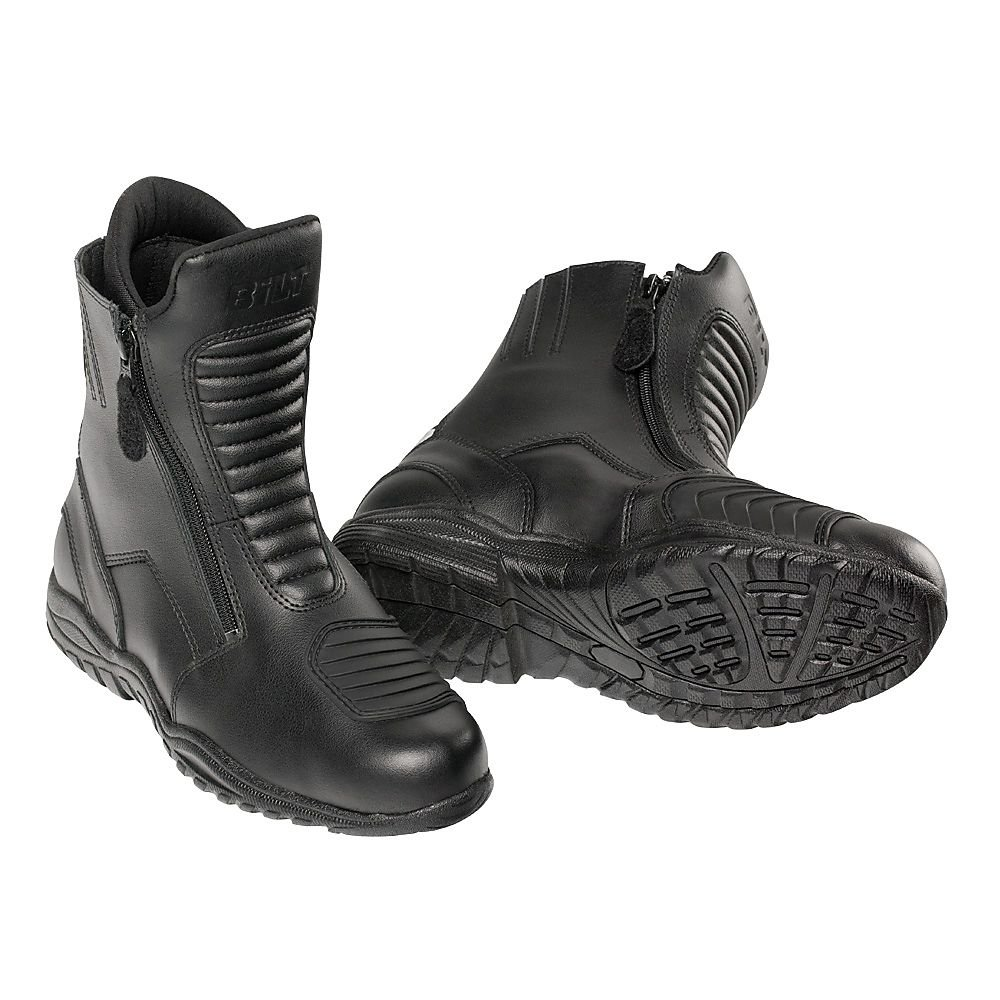 BILT Pro Tourer Waterproof Motorcycle Boots - 10, Black