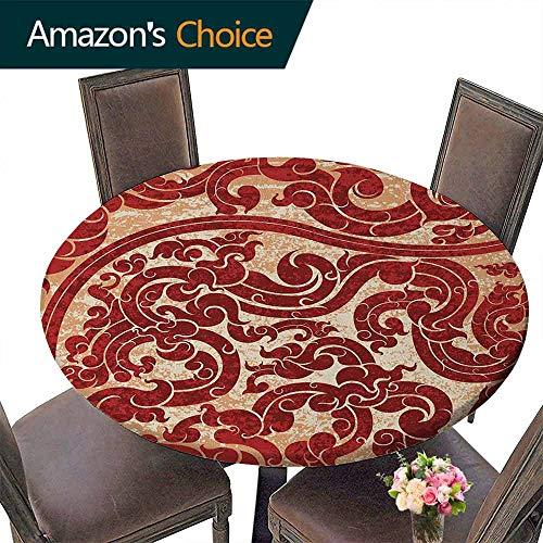 Round Premium Tablecloth 50