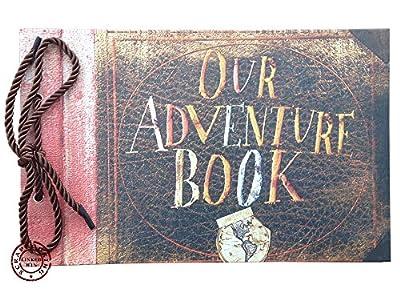 LinkedWin Our Adventure Book DIY Scrapbook/Photo Album