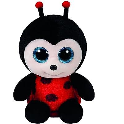 Ty Beanie Boos Izzy - Lady Bug Reg Plush: Toys & Games