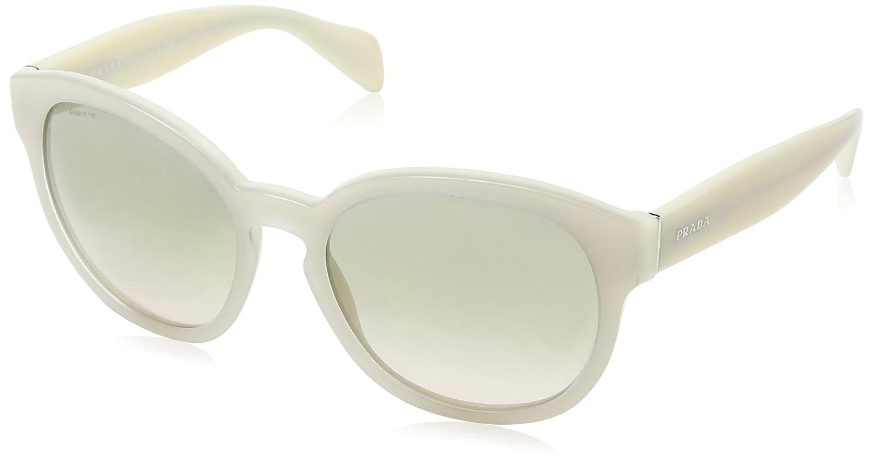 0aec0f7cd3147 ... best price prada womens spr18r spr 18r tko 3h2 opal ivory matte ivory  sunglasses 56mm at