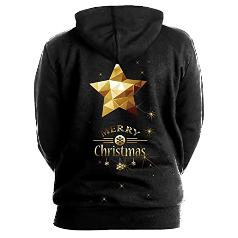 Jack&John Dream Christmas Tree Deer Hoodies Men Women Sweat Homme Casual Autumn Winter Casual Pullover 3D Hooded Sweatshirt at Amazon Mens Clothing store: