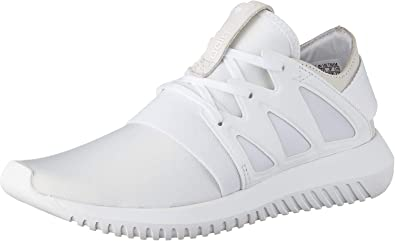 Gángster bestia Masculinidad  Amazon.com | adidas Originals Tubular Viral W Trainers Women White High Top  Trainers Shoes | Fashion Sneakers