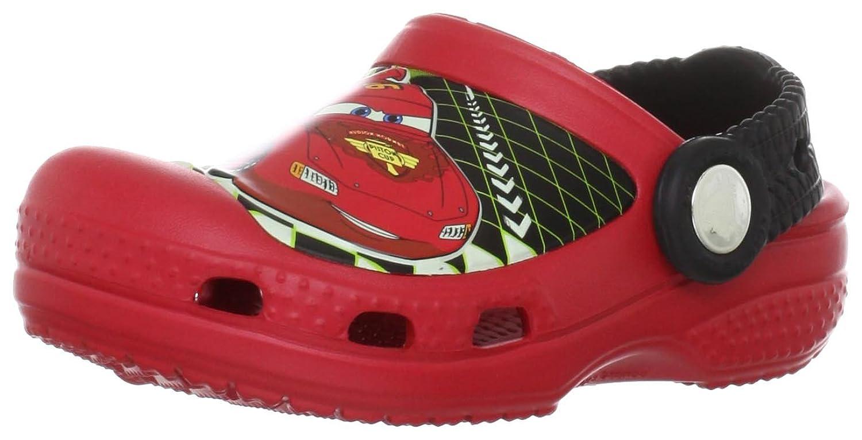 Amazon.com | Crocs 14831 CC Lightning McQueen Clog (Toddler/Little Kid),  Red, 3 M US Little Kid | Clogs & Mules