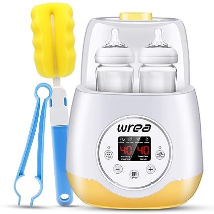 Amazon.com: Wrea - Calentador de botellas para bebé, 5 en 1 ...