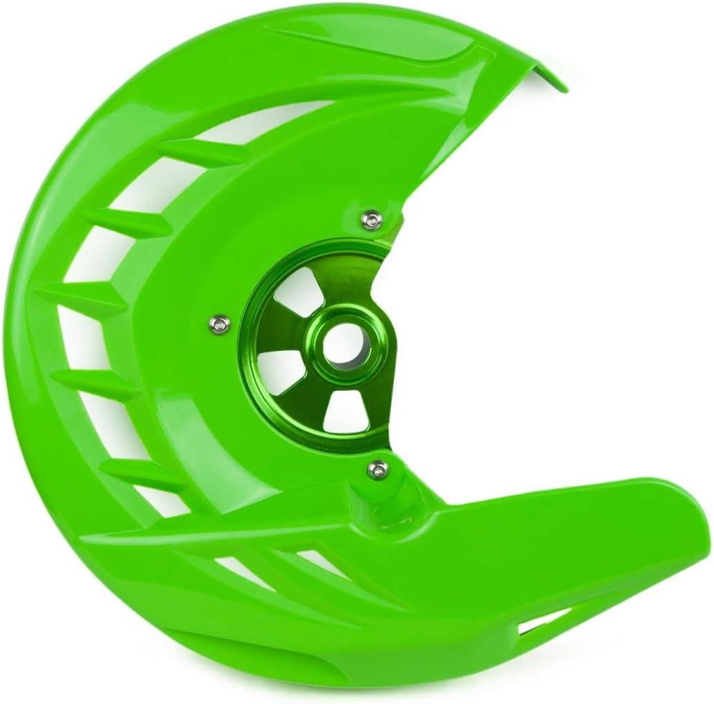 Nologo KF-Care Farbe : Gr/ün Bremsscheibe vorne Schutzfolie for Kawasaki KX125 KX250 2006-2008 KX 250 2019 KX250F KX450F 2006-2015 2016 2017 2018 KLX450R