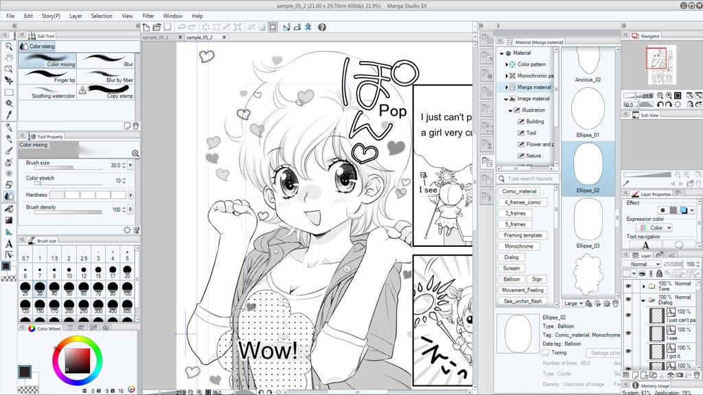 Manga Studio 5 & EX 5 / CLIP STUDIO PAINT PRO & EX Tutorials