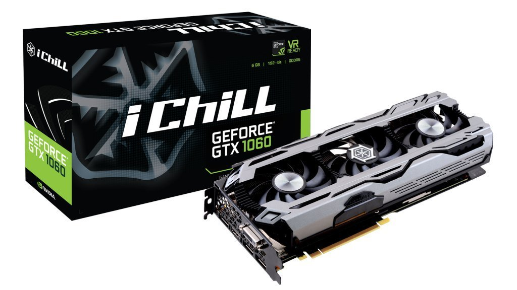 Inno3D C1060-1SDN-N5GNX GeForce GTX 1060 6GB GDDR5 - Tarjeta ...