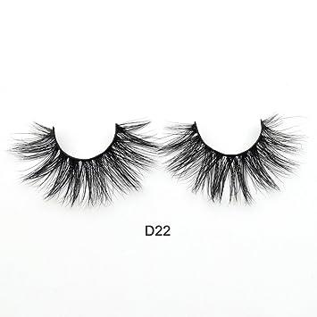d7c4b2c2f2d Amazon.com : 3D Mink Eyelash Hair Hyaluronic Eyelash Extensions Made Mink  Eyelashes Volume Medium Free Mink Eyelashes Imitation Lashes (D22) : Beauty