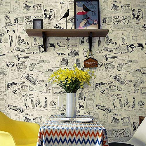 Details About Self Adhesive Shelf Liner Newspaper Drawer Contact Paper Wallpaper Shelf Liner