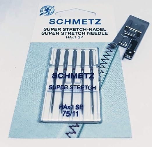 Nähmaschinenzubehör24 Original Schmetz Super Stretch ha X 1 SP ...