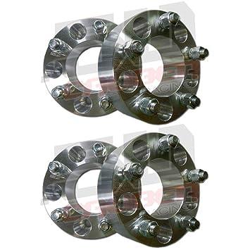 Juego de cuatro (4) rueda espaciadores – 5 x 150 mm perno patrón,