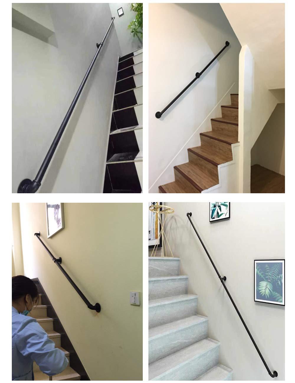 Bar, YHYS Treppenschutz-Armlehne geeignet f/ür Innen und Au/ßen Treppengel/änder aus verzinktem rutschfestem Farbverfahren Multi-Size 30cm - 600cm Villa