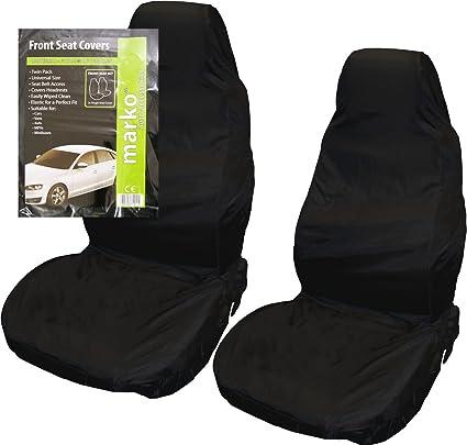 UNIVERSAL WATERPROOF SEAT COVER PROTECTOR CAR VAN HEAVY DUTY