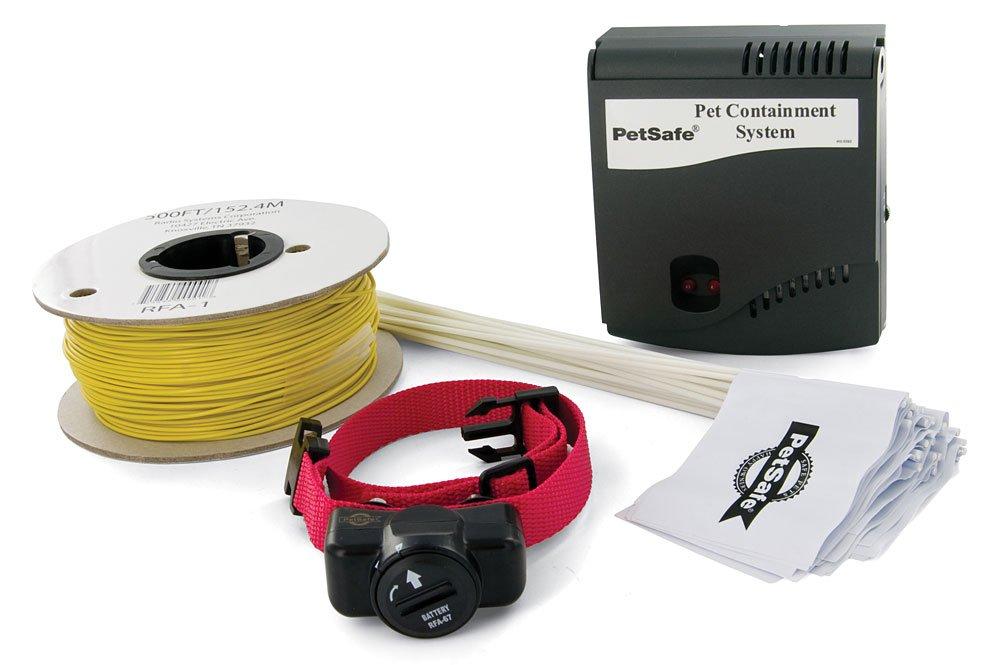 PetSafe - Clôture Anti-fugue avec Fil pour Chien avec Collier Anti-Fugue Imperméable - Tous types de Jardin - Facile à Installer PRF-3004W-20