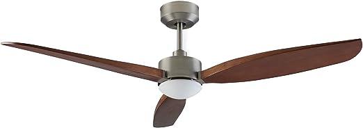 Embat - Ventilador de techo motor DC, Luz LED, Ø132cm: Amazon ...