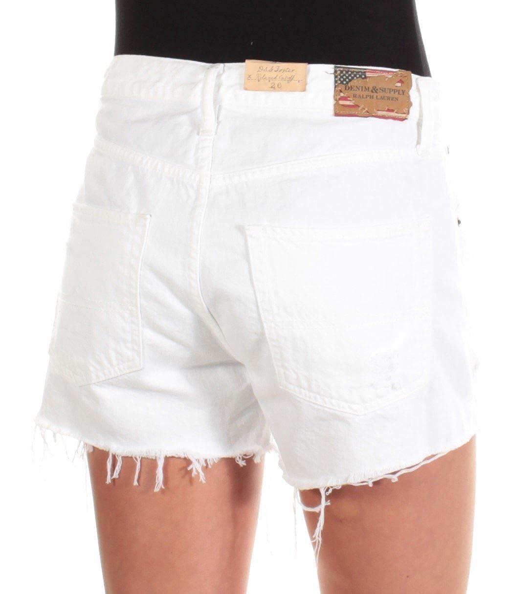0b6fb68d2 RALPH LAUREN Denim & Supply Boyfriend Cut-Off Shorts (24, Vail) at Amazon  Women's Clothing store: