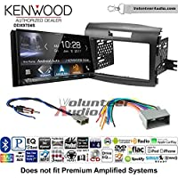 Volunteer Audio Kenwood DDX9704S Double Din Radio Install Kit with Apple Carplay Android Auto Fits 2012-2016 Honda CR-V