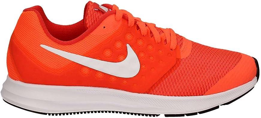 Nike - Downshifter 7 GS - 869969801 - Color: Naranja-Rojo - Size: 36.5: Amazon.es: Zapatos y complementos