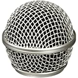 Performance Plus M58S Mesh Microphone Grill Replacement for Shure SM58 - Nickel Finish
