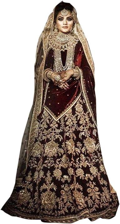 New Designer Indian Lehenga Skirt Bridal Wedding Party Wear Ethnic Ready To Wear Made To Order Lehenga