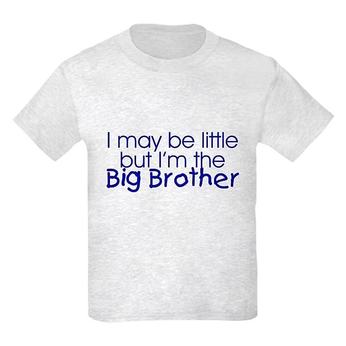 8d6ed78f Amazon.com: CafePress - I May Be Little. (Big Brother) Kids T-Shirt ...