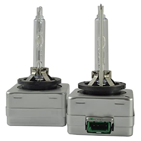 HID Xenon Replacement Light Bulbs D1S 8000K Cold White Iceberg Blue Metal holder Car Headlight Lamp