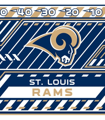 Nfl Stretch Book Covers - Turner NFL St. Louis Rams Stretch Book Covers (8190193)