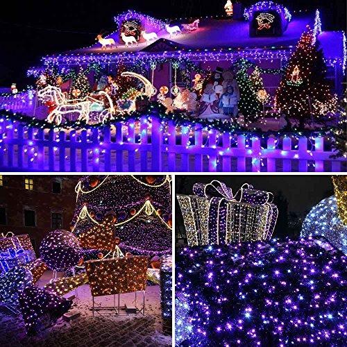 Solar Christmas Decorations.Qedertek 200 Led Solar Christmas Lights 72 Ft Halloween String Lights Waterproof Outdoor Fairy Lights For Xmas Home Wedding Patio Lawn Garden