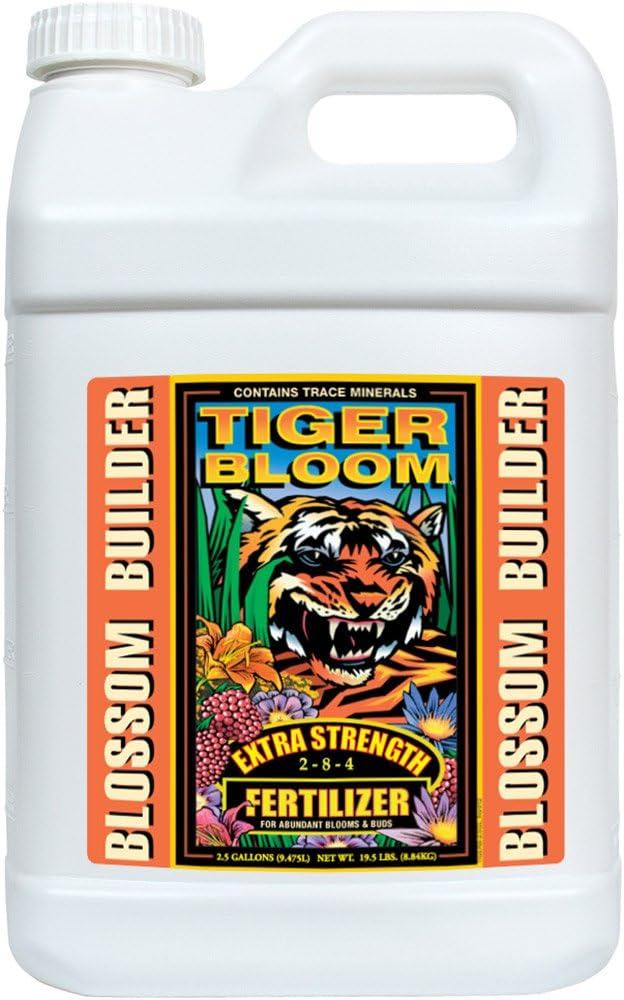FoxFarm FX14021 Hydroponic Fertilizer, 2.5-Gallon, White