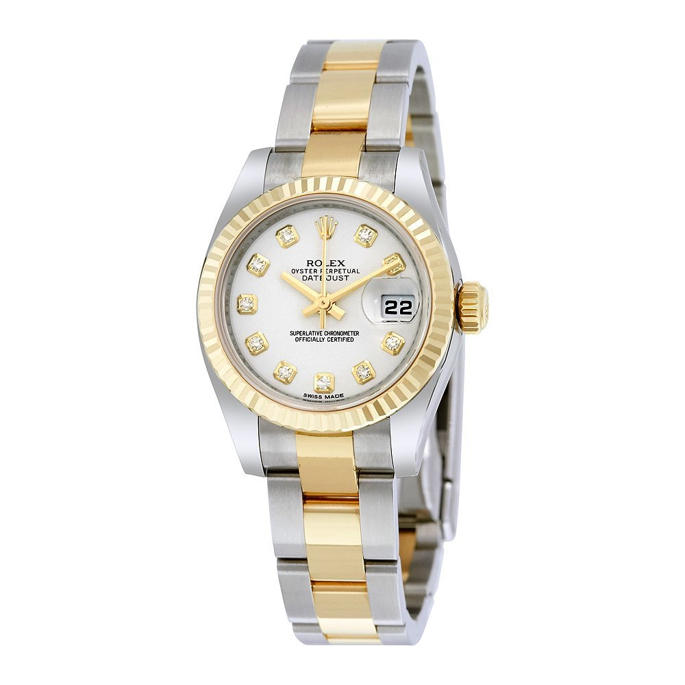 Amazon.com Rolex Lady Datejust 26 White Dial Stainless