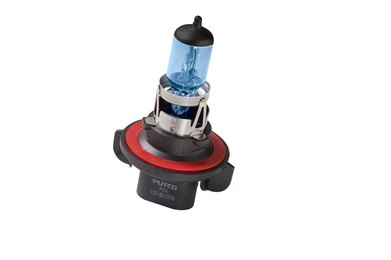 Putco Lighting Pair Double White Putco 230013DW Pure Halogen Headlight Bulb H13