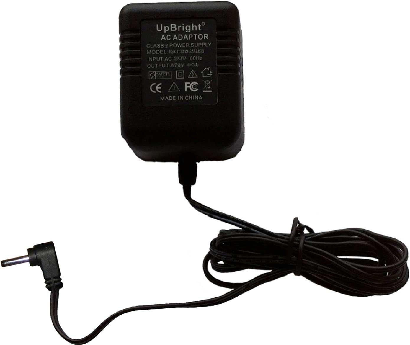 UpBright AC 6V AC Adapter Compatible with Vtech AT&T EL52353 EL52253 EL52203 EL52103 EL 52303 DECT 6.0 Cordless Phone Answering System Extra expansion handset Cradle Dock 6VAC Power Charger (NOT DC6V)