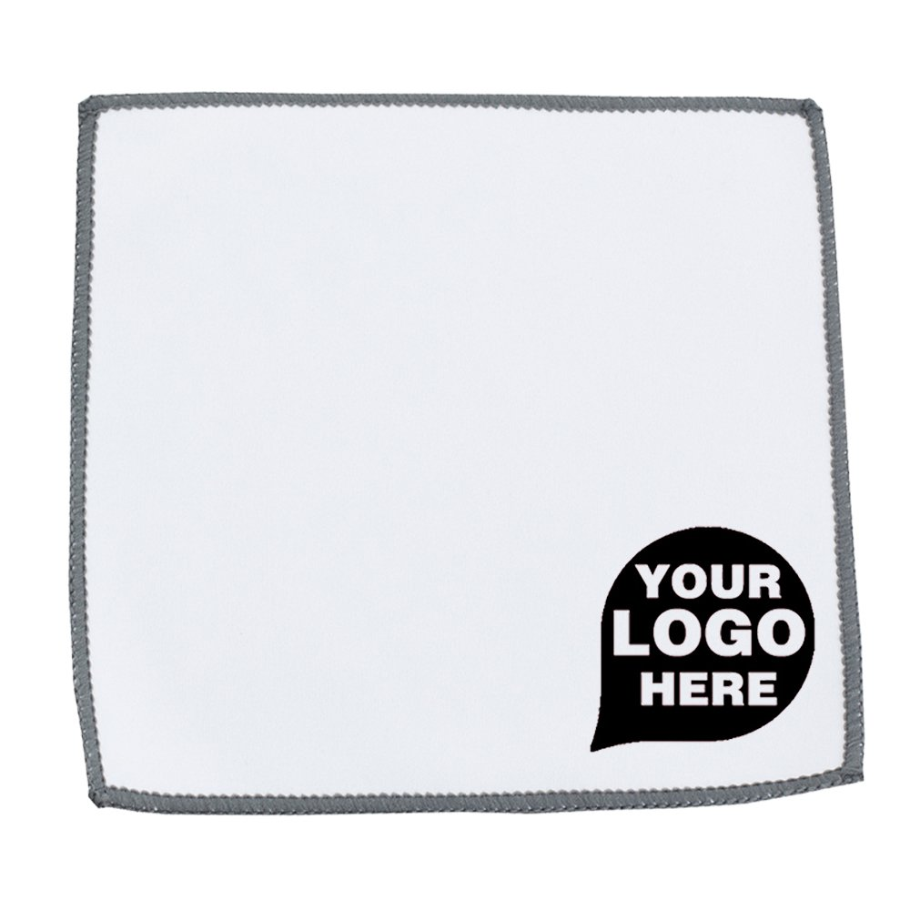 Microfiber Cleaning Cloth and Towel - 250 Quantity - $1.05 Each - PROMOTIONAL PRODUCT / BULK / BRANDED with YOUR LOGO / CUSTOMIZED