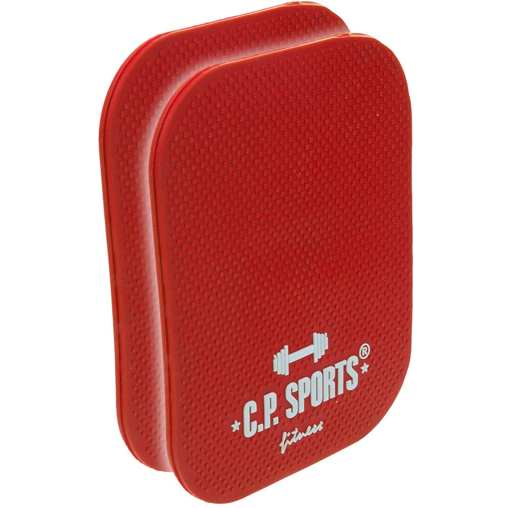 Fitness-Pads Griffpolster f/ür Fitnesstraining Krafttraining und Bodybuilding C.P Powerpad Sports unverw/üstliche Griffpads gummiert