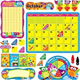 TREND enterprises, Inc. Owl-Stars! Calendar Bulletin Board Set